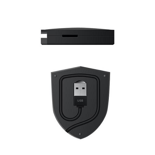 MICROPACK Card Reader [Shield 4 - 2R] - Memory Card Reader External